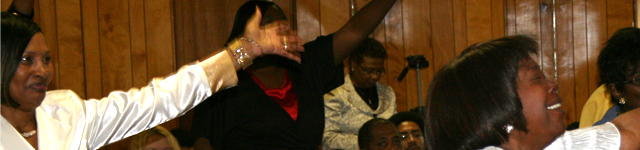C.A.L.M. Church of God In Christ Rotating Header Image